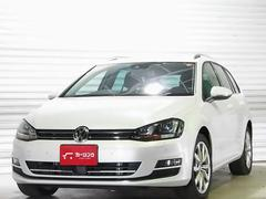 VW ゴルフヴァリアントTSIハイラインBMT純正フルセグTV ACC禁煙1オ−ナー