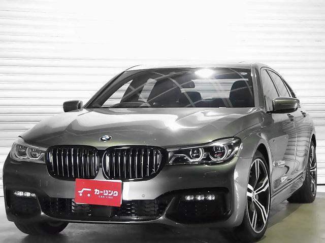 BMW 740i Mスポーツ サンルーフ 黒革 20AW 1オーナー