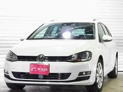 VW ゴルフヴァリアントTSIハイラインBMT 衝突軽減ブレーキ ワンオーナー 禁煙