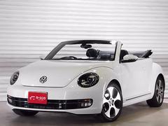 VW ザ・ビートル・カブリオレ黒革 社外18AW 禁煙車 フルセグナビ バックカメラ