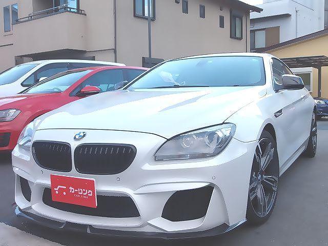 BMW 6シリーズ 650iクーペ 650iクーペ(4名) 社外20アルミ フロントバンパー&カーボン調リップスポイラー カーボン調ドアミラーカバー コンビハンドル ダイナミック・ダンピング・コントロール