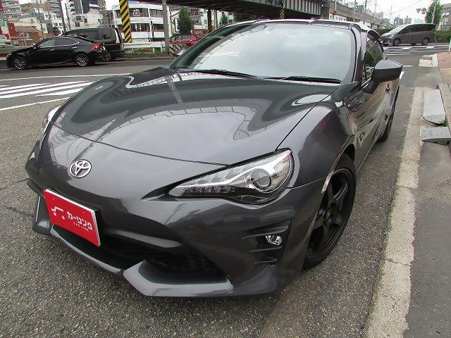 トヨタ GT ユーザー買取車 ワンオーナー 禁煙 HKSハイパワーマフラー GTスペックエキマニ HKSECU クロススピード17アルミ タナベダウンサス ザックス純正ダンパー フルセグナビ バックカメラ