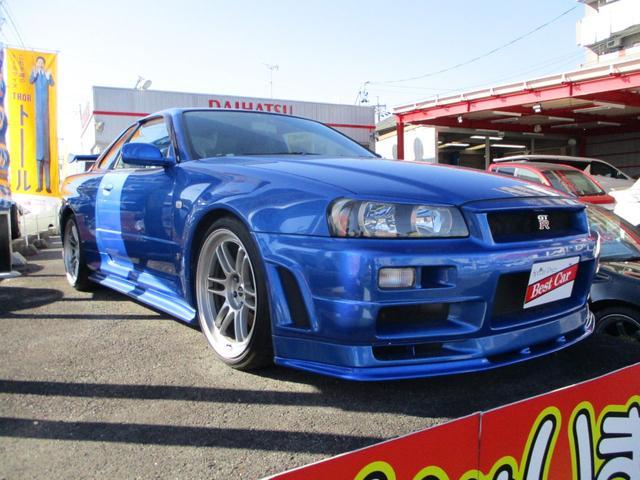 日産 スカイライン GT-R Vスペック ニスモエアロ ENKEI19インチ