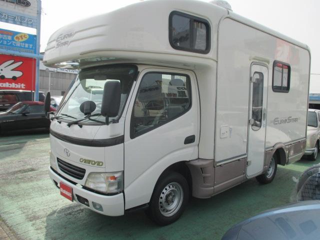 トヨタ カムロード ユーロスター88キャンパー ボイラー 冷蔵庫
