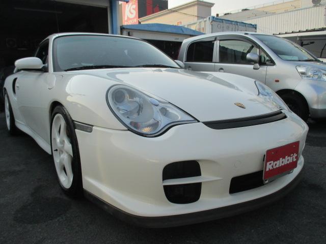 ポルシェ 911 911GT2ディーラー車ガレージ保管 6速 黒レザーバケット