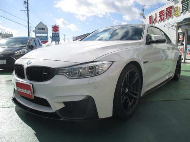 BMW M4クーペ M DCTドライブロジック 1オーナー禁煙ガレージ保管 REMUSマフラービルシュタイン車高調 Mパフォーマンスフルエアロ Mパフォマンスステアリング コーテング DIXCEL Mタイプブレーキパッド