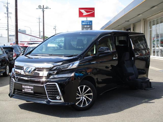 トヨタ ZRサイドリフトUPシート 福祉 後席モニタ プリクラッシュ
