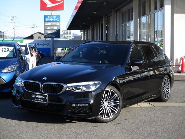 BMW 530iツーリングMスポーツ 黒革シート パノラマビュー