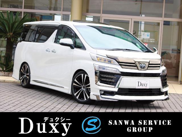 トヨタ 2.5Z ゴールデンアイズ 新車 Duxy×モデリスタコンプ ムーンルーフ デジタルミラー 3眼ヘッドランプ パワーバックドア