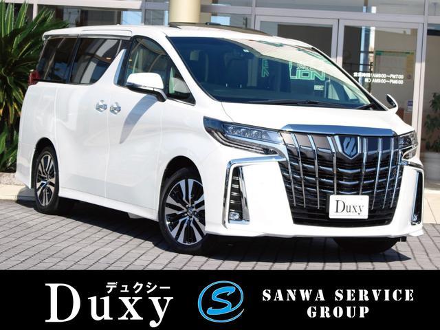 トヨタ 2.5S Cパッケージ 新車Duxyコンプリート ツインムーンルーフ デジタルインナーミラー 12.1型後席モニター 3眼LEDヘッドライト