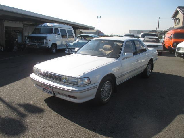 トヨタ 2.5スーパールーセントG 記録簿14枚 新車ビニール下取車
