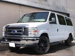 フォード E−150XLT 黒革フルフラットシート XD20AW