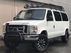 フォード E−150XLT OUTDOOR−pkg リフトアップ 黒革シート