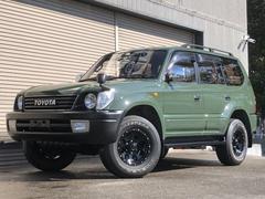 ランドクルーザープラドTXリミテッド 4WD 社外アルミ ナローカスタム
