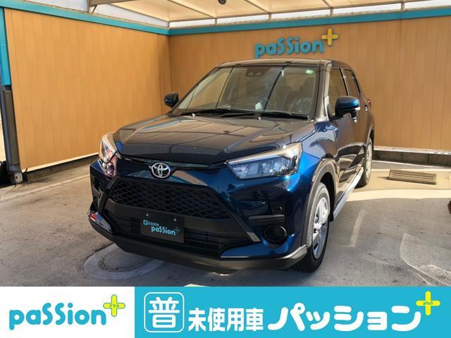 トヨタ X S 新車未登録 衝突軽減ブレーキ ナビレディパッケージ オートライト アイドリングストップ スマートキー コンパクトSUV プッシュスタート バックカメラ