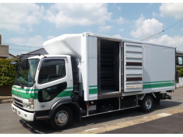 三菱ふそう 低温冷蔵冷凍車 パワーゲート 560x216x201 排ガス
