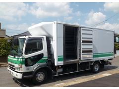 ファイター低温冷蔵冷凍車 パワーゲート 560x216x201 排ガス