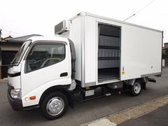 トヨエース中温冷蔵冷凍車 スタンバイワイドロング440x203x182