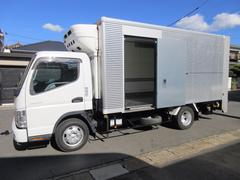 キャンター低温冷蔵冷凍車 パワーゲート 444x196x200