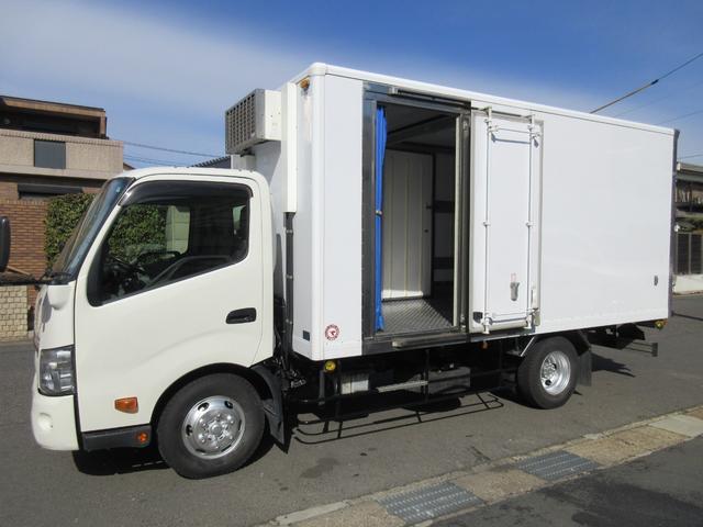 日野 低温冷蔵冷凍車 加温付2エバ2室式 449x193x199