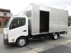 ダイナトラックアルミバン パワーゲート ワイドロング454x207x217