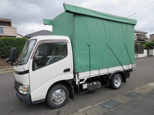トヨタ カーテン車 2t ガソリン 5t免許 311x162x205