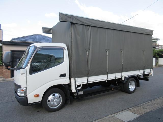 キレイ シートは布をはずして洗濯してあります キレイ SKG−XZU655 4Lターボ AT ETC 車両総重量5115KG