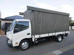 ダイナトラックカーテン車 AT 2t ロング 435x179x200