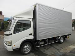 トヨエースアルミバン パワーゲート ワイドロング454x207x214