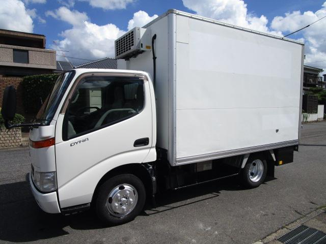 トヨタ ダイナトラック 低温冷蔵冷凍車スタンバイ オートフロア282x164x159