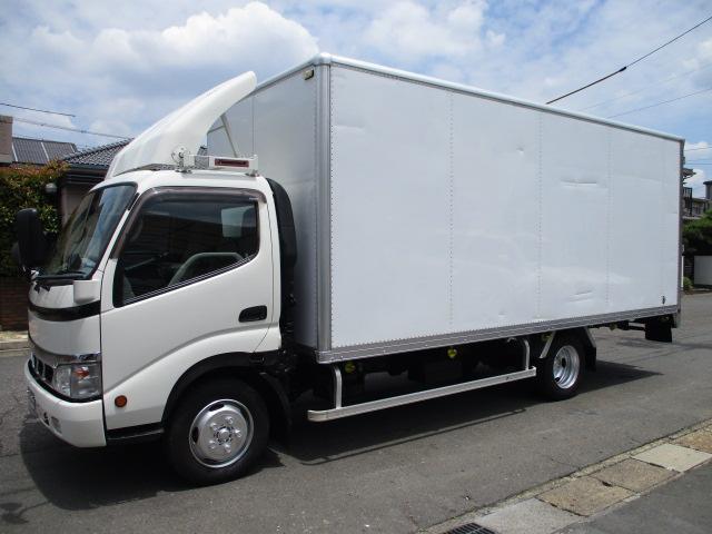 トヨタ ダイナトラック アルミバン ワイドロング 2t AT 537x210x213