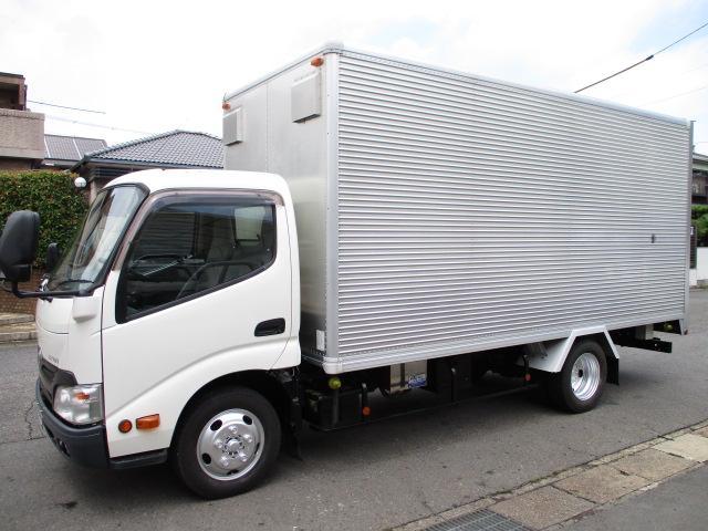 トヨタ ダイナトラック アルミバン オートフロア ロングAT 446x179x195