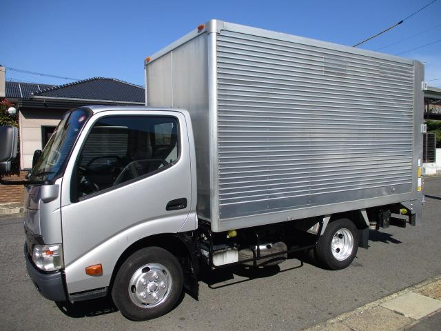 トヨタ  アルミバン 垂直パワーゲート AT 5t免許 1.75t積載 内寸343x175x187 スライドリフトリフトスマーティ600キロ TKG-XZC605 4Lターボ 車両総重量4965キロ