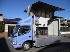 デュトロ アルミウイング 5t免許 1.8t積載 内寸311x178x195 ナビ カメラ 4Lターボ 5速 BKG−XZU508M 最大積載量1800キロ 車両総重量4965キロ