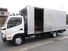 ダイナトラック アルミバン マルチパワーゲート ワイドロング 内寸509(498)x206x205 2トン積載 4Lターボ 5速 BDG−XZU424 最大積載量2000キロ 車両総重量5655キロ