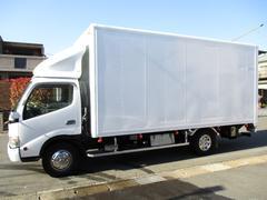 デュトロ アルミバン マルチパワーゲート ワイドロング 内寸526x207x234 3トン積載 4Lターボ 6速 BDG−XZU424M 最大積載量3000キロ 車両総重量6945キロ
