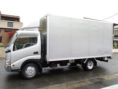 トヨエース アルミバン オートフロア ワイドロング AT 2t積載 内寸431x210x184 ETC シャッター 最大積載量2000キロ 車両総重量 5795キロ