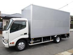 デュトロ アルミバン マルチパワーゲート ロング 内寸460x178x212 2.75トン積載 車検令和4年3月 4Lターボ 5速 SKG−XZU650M 最大積載量2750キロ 車両総重量6165キロ