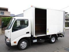 ダイナトラック アルミバン 垂直パワーゲート AT 内寸324x176x187 2トン積載 スライドドア 4Lターボ AT TKG−XZU605  最大積載量2000キロ 車両総重量5235キロ