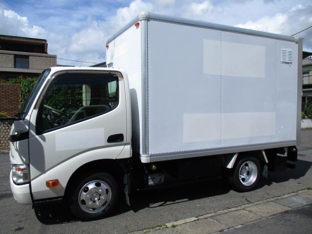 トヨタ ダイナトラック  アルミバン AT 5t免許 ナビ カメラ 内寸310x167x185 1.35トン積載 3Lターボ AT LDF-KDY231 最大積載量1350キロ 車両総重量3885キロ