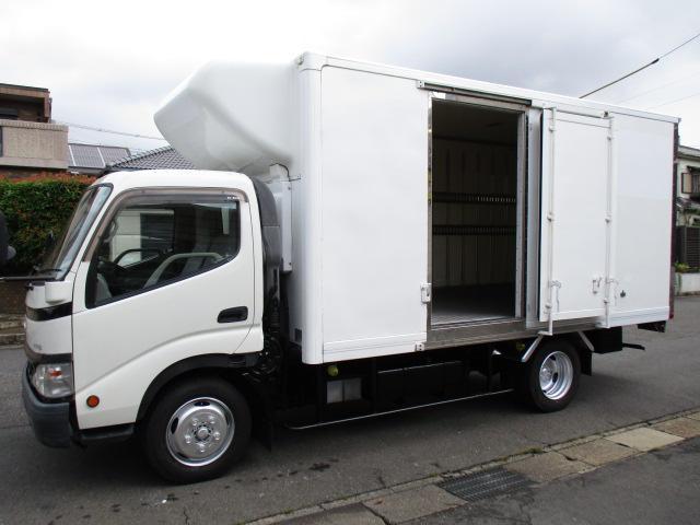 日野 デュトロ  低温冷蔵冷凍車 スタンバイ 東プレ-30℃設定 ワイドロング 2t積 内寸421x193x194 5.3Lノンターボ 6速 KK-XZU410M 最大積載量2000キロ 車両総重量5935キロ
