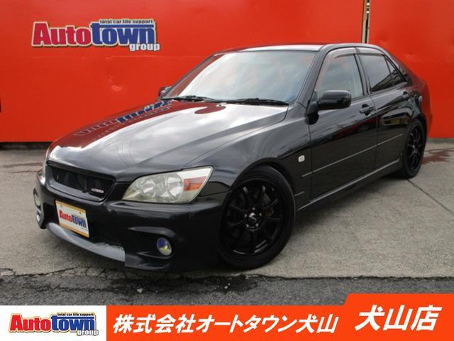 トヨタ RS200 Zエディション CD/DVD/HID/アルミホイール/6速MT/電動式格納ミラー/USB/エアコン/運転席・助手席エアバック/パワーウィンドウ/パワステ/ABS/プライバシーガラス