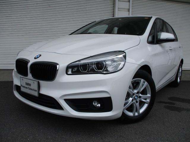 BMW 218dアクティブツアラー プラスPKGパーキングサポート