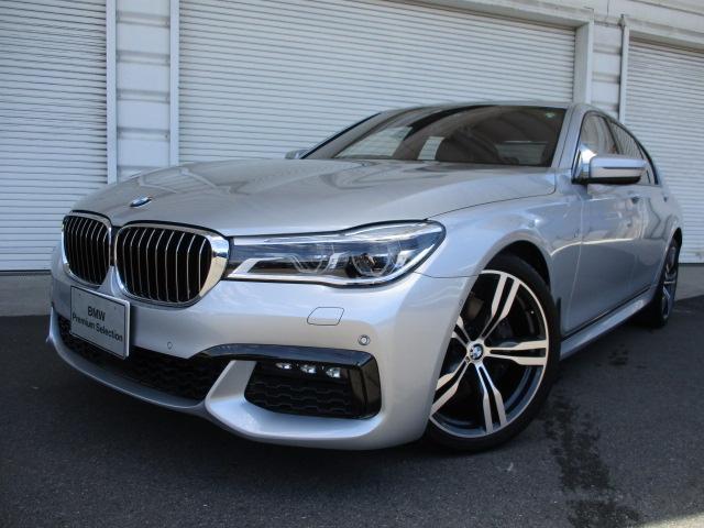 BMW 740iMスポーツLEDヘッドライトSR20AW認定中古車