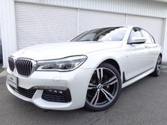 BMW740i Mスポーツ20AW黒革ガラスSRデモカー認定中古車