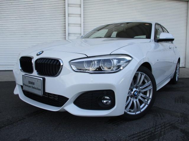 BMW 118iMスポーツLEDヘッドライトパーキングサポート認定車