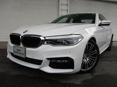 BMW523d MスポーツイノベーションPKGデモカー認定中古車