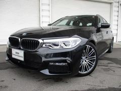 BMW530iツーリング Mスポーツ黒革デビューPKG認定中古車
