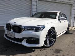 BMW740i Mスポーツ20AWレーザーライトモカ革リモートP