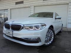 BMW523iラグジュアリーベージュレザーシート認定中古車
